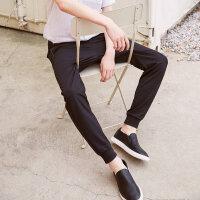 【1件2折到手价:33.8】美特斯邦威板鞋男新款材质拼接时尚板鞋商场款