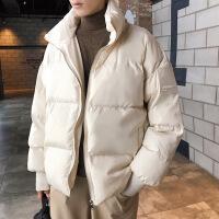 №【2019新款】冬天胖子穿的棉衣袄男加肥加大码潮厚外套宽松装立领面包简约港风