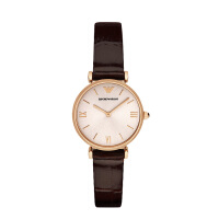 Armani正品阿玛尼皮带复古手表女 时尚防水石英表防水手表AR1911