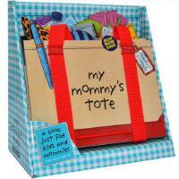 【现货】英文原版 妈妈的手提包 My Mommy's Tote 立体翻翻书 3-6岁趣味认知 纸板翻翻书 玩具书