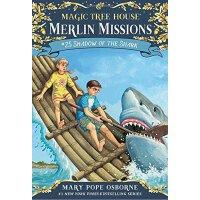 【现货】英文原版 Magic Tree House(Merlin Missions 25): Shadow of th