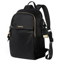 双肩包女商务电脑包休闲旅行包尼龙布背包2019新款牛津布学生书包