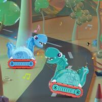 曼龙儿童玩具工程车带音乐声光万向轮宝宝玩具儿童益智恐龙小汽车