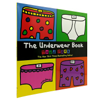 英文原版 The Underwear Book [平装] [3-6岁]