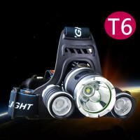 头灯强光超亮充电式LED远射头戴式手电筒户外锂电防水矿灯