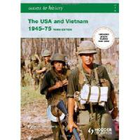 【预订】The USA and Vietnam, 1945-75