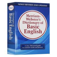 韦氏基础词典 英文原版 Merriam-Webster's Dictionary of Basic English 麦