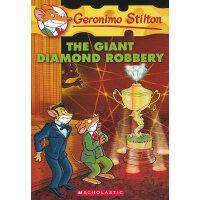 Geronimo Stilton #44: The Giant Diamond Robbery 老鼠记者44 9780