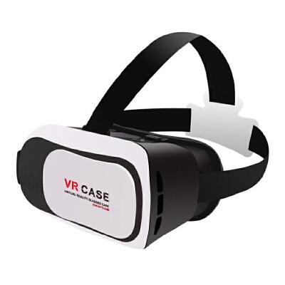 【包邮】VR CASE眼镜虚拟现实暴风魔镜头盔 vr 3d眼镜手机3D眼镜 vr case巨幕手机影院 3D效果 真实展现 支持中低度近视裸眼观看