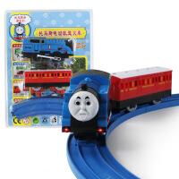 儿童大号和谐号小火车玩具电动万向仿真托马斯火车男孩4岁玩具车