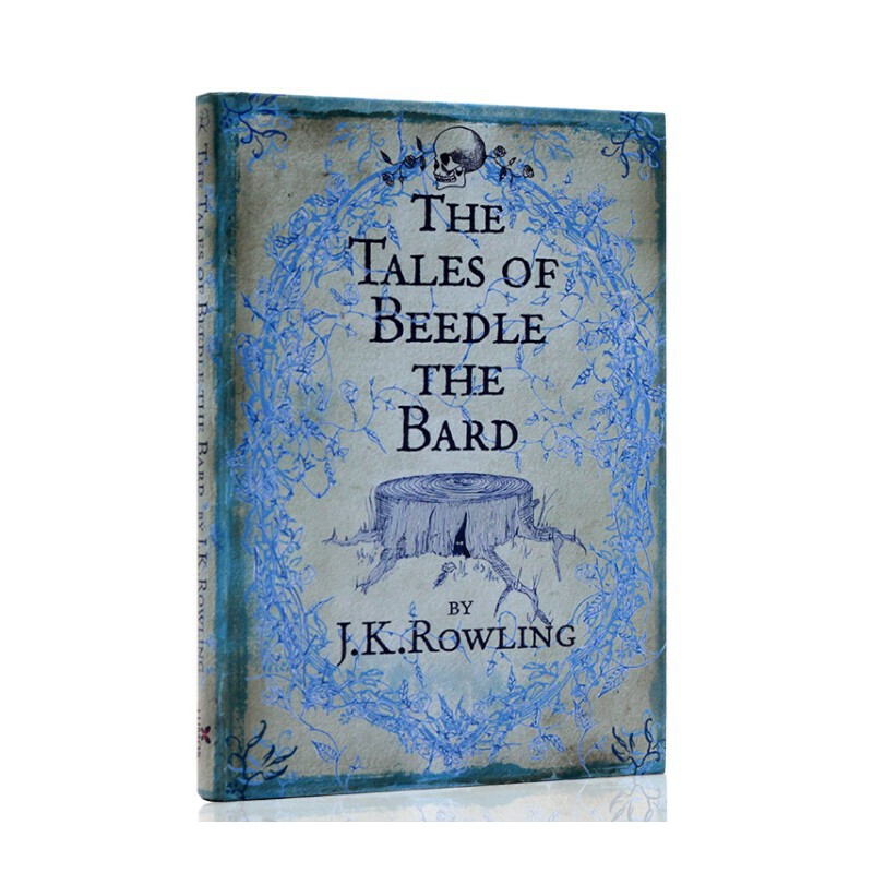 英文原版诗翁彼豆故事集 The Tales of Beedle the Bard JK罗琳 J.K. Rowling 哈利波特系列 外传 周边 国外进口书 原著 正版 现货