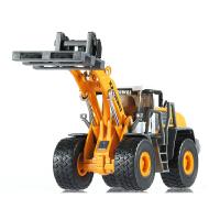 凯迪威 轮式叉装机 全合金工程车模型叉车起重车儿童玩具