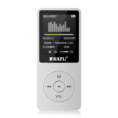 ?X02运动MP3 MP4音乐播放器 迷你随身听学生P3可爱插卡 录音笔