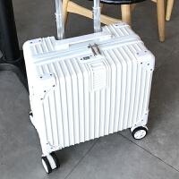 时尚条纹行李箱女18寸登机箱旅行箱旅游箱包拉杆箱子韩版小清新潮