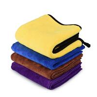 擦车布专用巾不留痕擦无痕汽车抹布大洗车毛巾吸水加厚专用