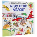 飞机场的一天 英文原版绘本 Richard Scarry's A Day at the Airport 斯凯瑞金色童书