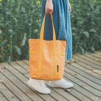 纯色帆布单肩手提包袋日韩新款多色文艺复古风校园女生休闲包包