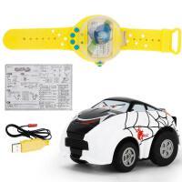 ?手表遥控车抖音儿童电动网红玩具男孩安巴表带迷你小汽车? 【送电池+螺丝刀】
