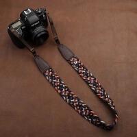 cam-in通用型多彩编织单反照相机背带 微单摄影肩带