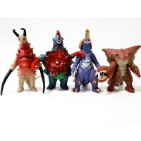 超人欧布魔王兽魔格大蛇玛伽咖大蛇软胶怪兽玩具贝利亚人偶