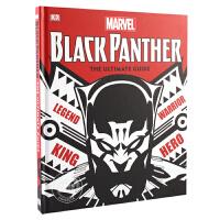 现货 黑豹完全指南 英文原版 Marvel Black Panther Ultimate Guide Stan Lee漫