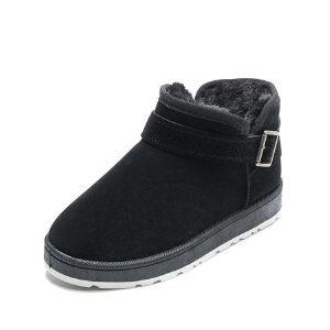 WARORWAR新品YM159-E970冬季休闲平底舒适女士雪地靴