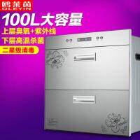 消毒柜 厨房电器消毒柜 家用银色消毒柜 消毒柜 银灰色