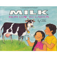 Milk from Cow to Carton (Let's Read and Find Out) 自然科学启蒙2:牛奶