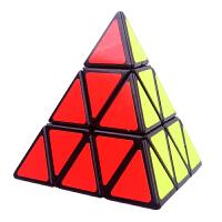 金字塔三角形魔方比赛顺滑异形魔方小学生力玩具 抖音 圣手金字塔+三阶+四阶+全套