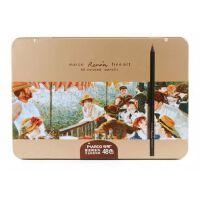 马可雷诺阿3200�\木彩色铅笔 进口芯 24 36 48色油性彩铅铁盒