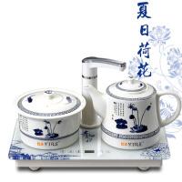 陶瓷电热水壶烧水保温煮茶器功夫茶具 自动上水