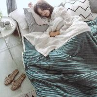 双层珊瑚绒毛毯被套女单件加厚羊羔绒毯子冬季法兰法莱绒加绒被罩