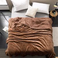毛毯床单柔羊羔绒珊瑚绒毯子加厚双层法兰绒床单午睡空调绒毛毯