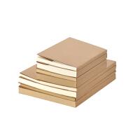 复古欧式牛皮纸空白速写本韩国绘画素描涂鸦本白纸本简约笔记本子学生用手账本手绘本加厚创意记事本B5A5定制