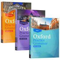 牛津英语实用语法教材初中高级3本 英文原版 Oxford Practice Grammar Basic Advance