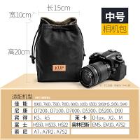 佳能尼康单反相机包摄影内胆包收纳包微单包镜头袋保护套防尘复古
