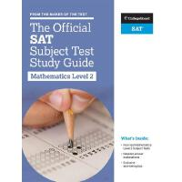 英语原版 官方SAT考试科目 数学二级指南 大学理事会官方学习指南The Official SAT Subject T