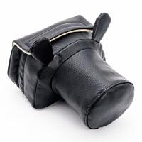防水可爱猪头包尼康佳能单反相机包600D 650D 3200 5200内胆包套 PB黑色耳朵小号 PB黑色耳朵小号