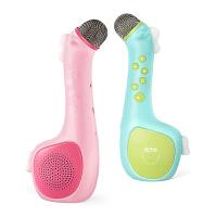 亲子悦儿童话筒卡拉OK唱歌机掌上KTV无线麦克风 宝宝婴幼音乐玩具