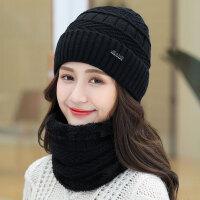 帽子女冬天潮秋冬季帽子女士毛线帽针织帽护耳帽