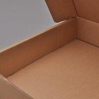 飞机盒纸箱邮政物流包装纸箱定制纸盒子 350x250x120 100个