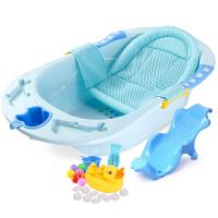 婴儿浴盆宝宝洗澡盆儿童洗浴盆小孩浴桶洗新生儿用品大号加厚