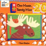【预订】One Moose, Twenty Mice