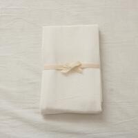 枕套一对 单只 纯色素色条纹格子舒适枕头套子 48cmX74cm