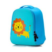 幼儿园书包1-3-6岁宝宝小中大班儿童背包男女童可爱动物幼儿包包5 小号狮子 (建议1-3岁)
