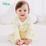 【129元3件】迪士尼Disney童装 婴儿衣服四季新款卡通小丑鱼套装家居服男女宝宝肩开扣圆领睡衣191T867