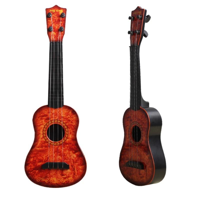 儿童玩具小提琴乐器初学者可弹奏音乐玩具吉他男女孩1-3-6岁a293