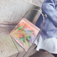 手提包包女2018新款韩版简约时尚气质单肩包百搭个性斜跨包小方包