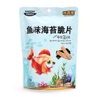 韩国韩香惠 鱼味海苔脆片25g 宝宝儿童进口零食休闲即食 非油炸