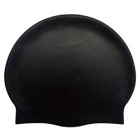 游泳帽男女儿童纯色防水硅胶泳帽定制logo泳帽订定做印名字